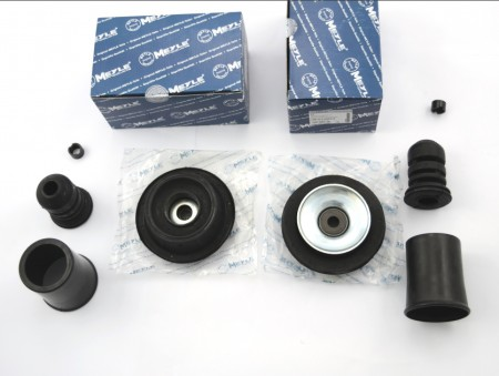 STRUT MOUNT KIT PAIR MEYLE VW MK2 GOLF JETTA TOLEDO IBIZA