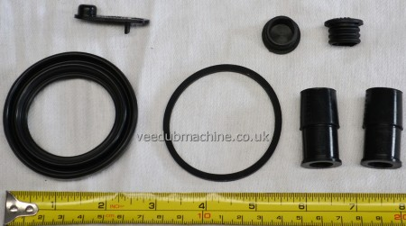 BRAKE CALIPER SEAL KIT FRONT FOR PASSAT T4 A4 A6 SUPERB