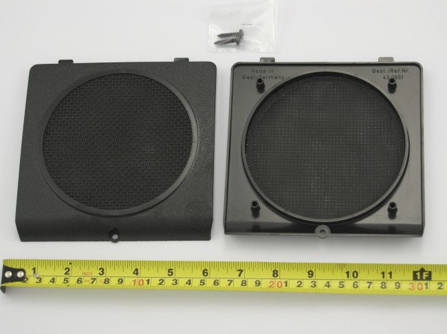 & PAIR VAG FRONT DOOR SPEAKER PODS GOLF MK2 JETTA
