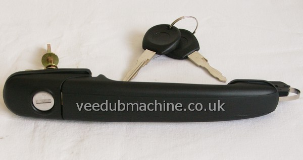 Front Door Handle With Lock Keys Polo 6n Fits Both Sides