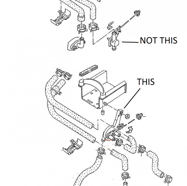 2005 volkswagen jetta radiator diagram