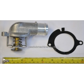 THERMOSTAT IN HOUSING FOR 2.5TDI VW TRANSPORTER T5 TOUAREG