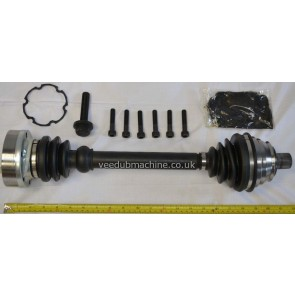 Drive Shaft SHAFTEC without ABS inc CV TRANSPORTER T4 1996 to 2004 JZW407449FX 701407271M, 701407449FX, 701407451X