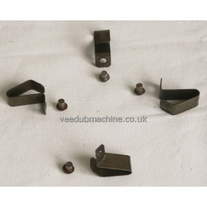 SET OF HUB CAP CLIPS & RIVETS bus or beetle T1 T2