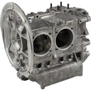 New universal engine case, VAG 043101025  magnesium alloy AS41, with 8 mm steel case savers. Includes oil pick up tube