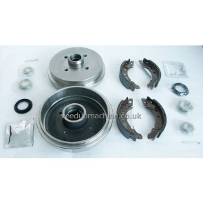 REAR BRAKE DRUM KIT PAGID MEYLE GOLF MK2 MK1 CAB SCIR POLO PAS 5