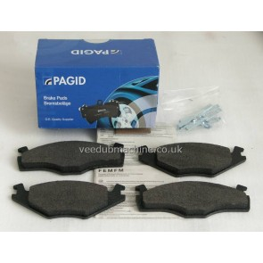 BRAKE PADS FRONT PAGID VW GOLF MK2 MK1 SEAT AUDI