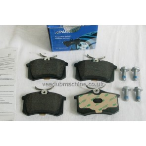 BRAKE PADS REAR PAGID GOLF MK2 3 POLO CORRADO A3 A4 CORDOBA IBIZ
