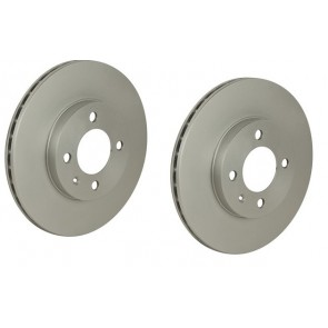 DISCS FRONT 256mm PAIR Meyle PD GOLF MK2 16V 88>91 CORRADO LUPO CADDY 321315301D 6N0615301D
