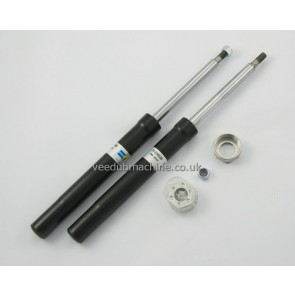FRONT SHOCK ABSORBERS PAIR BilStein FOR VW GOLF Jetta CADDY SCIROCCO 2-21-030338
