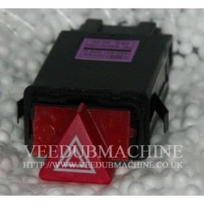 HAZARD WARNING LIGHT SWITCH & FLASH RELAY A6 S6 RS6 GENUINE AUDI
