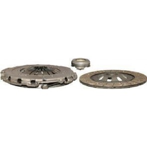 Clutch Kit Transmech Comprising 038141032E Clutch Plate and 038141025P Pressure Plate and 02A141165M Release Bearing New for Models With Dual Mass Flywheel