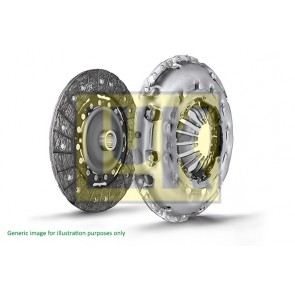 Clutch 2 Peice  5 and 6 Speed, CAAC, CAAE, CCHA, CCHB, 2.0TDi T5.1 TRANSPORTER 240mm  03L141015B