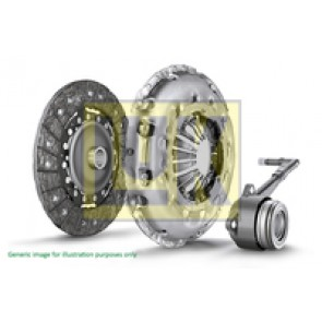 Clutch 3 Peice 5 and 6 Speed CAAC, CAAE, CCHA, CCHB 03L141015B, 0A5141671F, LUK TRANSPORTER 2.0 T5.1 240mm,