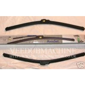 VAG RETROFIT AERO WIPER BLADES POLO 6N 6N2 GOLF MK2