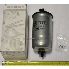 VAG GENUINE FUEL FILTER FOR TDI/SDI 1.4/1.9 POLO CORDOBA IBIZA