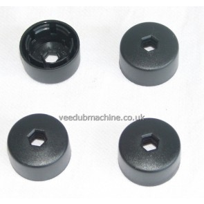 4 VAG 17mm WHEEL SECURITY BOLT COVERS GOLF BOORA BEETLE LUPO
