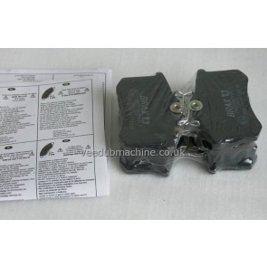 BRAKE PADS REAR GALAXY SHARAN ALHAMBRA A3 7M3698451E