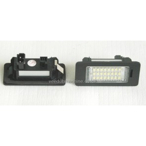 WHITE LED NUMBER PLATE LIGHT SET FOR BMW 1 3 5 X SERIES