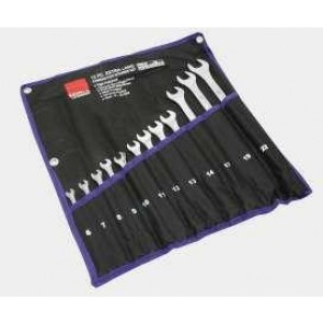 12 pce Extra Long Comb Spanner Set Metric Pro Craft 1454