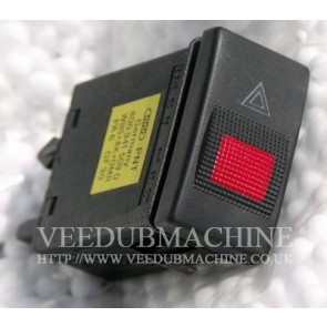 HAZARD WARNING LIGHT SWITCH WITH FLASHER RELAY A4 S4 1995 to 99