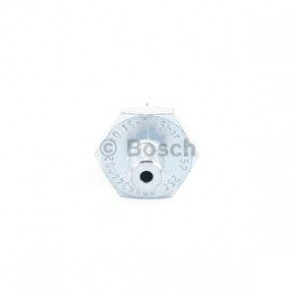 Oil Pressure Swuitch BOSCH 0 986 344 082 from 0,15 bar, to 0,3 bar, Lock, Red, with seal, Spanner size 24, Thread Size M10 x 1,0, 1 terminal  021919081C 028919081D 056919081B 056919081C 0135420617 6ZL003259641 1669963