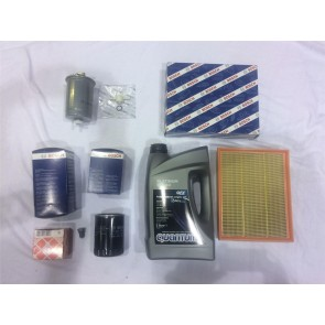 Service Kit 3 Bosch Filters Oil Air Fuel VW Oil VW Transporter T4 1.9 TD ABL 1991 to 2003