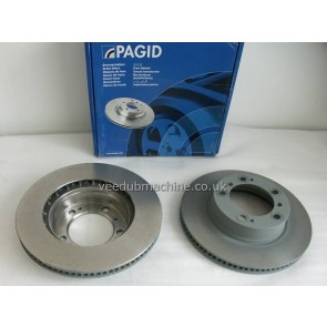DISCS FRONT 298mm PAIR VENTED BOXSTER 2.5-2.7 96-2004