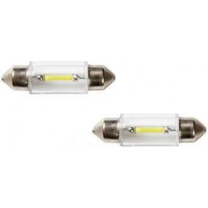 Pair of 12v 239 C5W New Filament Style LED