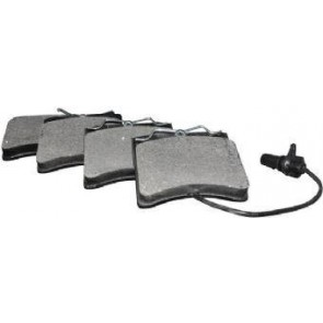 Brake Pad Set Front pin type with wear indicator TRANSPORTER T4 With Vented Discs 2000>2003 7D0698151H 7D0698151C