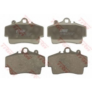 PAD SET 15.5MM FRONT TRW BOXSTER 2.5 96-99 2.7 08/99-12/04 98635193911 98635193913 98635193915