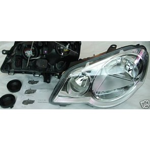 LEFT HEADLIGHT POLO 9N3 2005 to 2009 not GTi Right Hand Drive