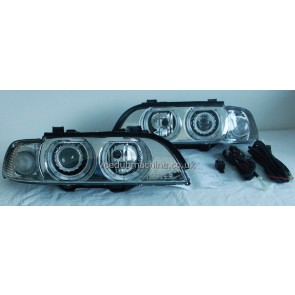 HEADLIGHTS ANGEL EYE E39 1995>2000 RHD and LHD
